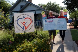 M6M giving to recent partner Good Sam of Garland